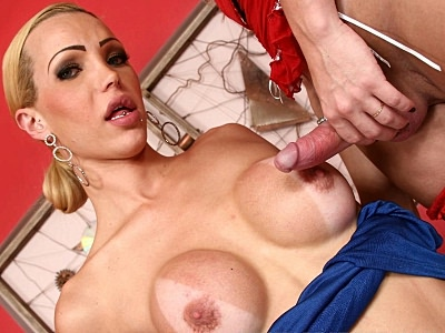 Seductive Tranny Screwed